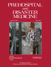 Prehospital and Disaster Medicine Volume 27 - Issue 1 -