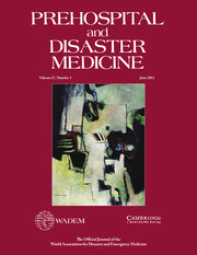 Prehospital and Disaster Medicine Volume 27 - Issue 3 -