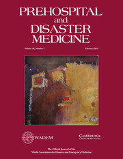 Prehospital and Disaster Medicine Volume 28 - Issue 1 -
