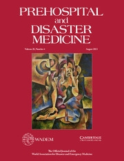 Prehospital and Disaster Medicine Volume 28 - Issue 4 -