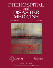 Prehospital and Disaster Medicine Volume 28 - Issue 5 -