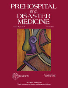 Prehospital and Disaster Medicine Volume 29 - Issue 5 -
