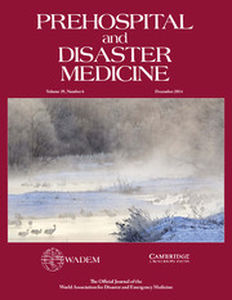 Prehospital and Disaster Medicine Volume 29 - Issue 6 -