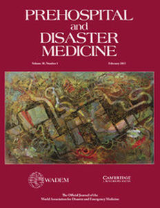 Prehospital and Disaster Medicine Volume 30 - Issue 1 -