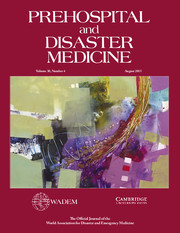 Prehospital and Disaster Medicine Volume 30 - Issue 4 -