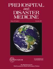 Prehospital and Disaster Medicine Volume 30 - Issue 6 -
