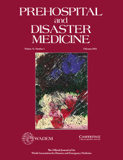 Prehospital and Disaster Medicine Volume 31 - Issue 1 -