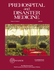 Prehospital and Disaster Medicine Volume 31 - Issue 2 -