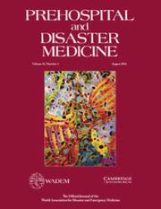 Prehospital and Disaster Medicine Volume 31 - Issue 4 -