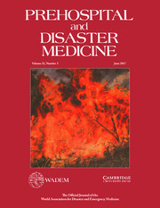 Prehospital and Disaster Medicine Volume 32 - Issue 3 -