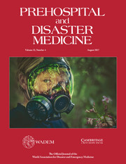 Prehospital and Disaster Medicine Volume 32 - Issue 4 -