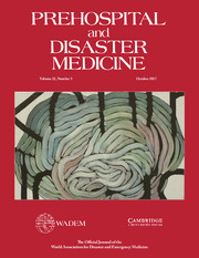 Prehospital and Disaster Medicine Volume 32 - Issue 5 -