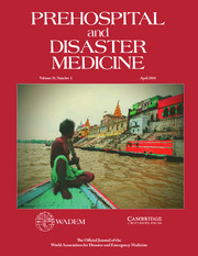 Prehospital and Disaster Medicine Volume 33 - Issue 2 -