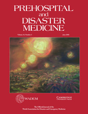 Prehospital and Disaster Medicine Volume 33 - Issue 3 -