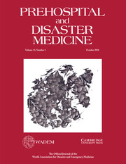 Prehospital and Disaster Medicine Volume 33 - Issue 5 -