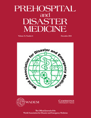 Prehospital and Disaster Medicine Volume 33 - Issue 6 -