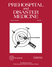 Prehospital and Disaster Medicine Volume 34 - Issue 2 -
