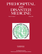Prehospital and Disaster Medicine Volume 35 - Issue 1 -