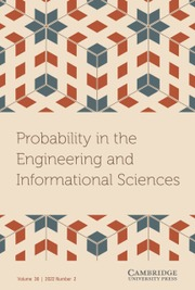 Probability in the Engineering and Informational Sciences