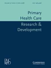 Primary Health Care Research & Development Volume 9 - Issue 2 -