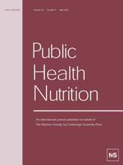 Public Health Nutrition Volume 10 - Issue 5 -