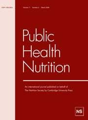 Public Health Nutrition Volume 11 - Issue 3 -