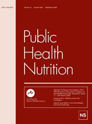 Public Health Nutrition Volume 12 - Issue 9 -