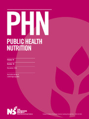 Public Health Nutrition Volume 19 - Issue 18 -