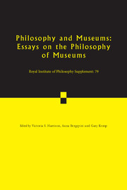 Royal Institute of Philosophy Supplements Volume 79 - Issue  -
