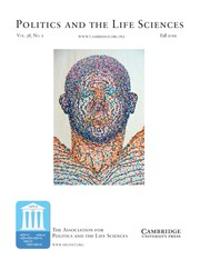 Politics and the Life Sciences Volume 38 - Issue 2 -