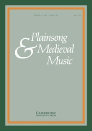 Plainsong & Medieval Music