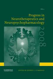 Progress in Neurotherapeutics and Neuropsychopharmacology Volume 3 - Issue 1 -