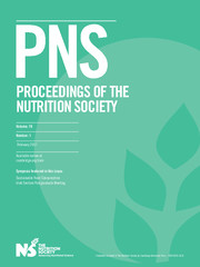 Proceedings of the Nutrition Society Volume 76 - Issue 1 -