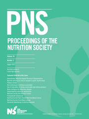 Proceedings of the Nutrition Society Volume 76 - Issue 3 -