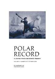 Polar Record Volume 41 - Issue 4 -
