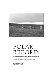Polar Record Volume 42 - Issue 4 -