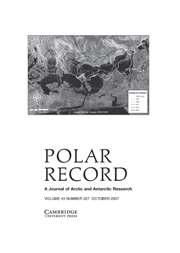 Polar Record Volume 43 - Issue 4 -
