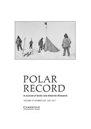 Polar Record Volume 47 - Issue 3 -