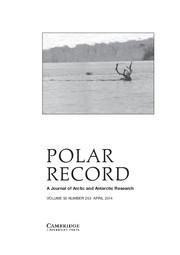 Polar Record Volume 50 - Issue 2 -