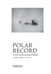 Polar Record Volume 53 - Issue 4 -
