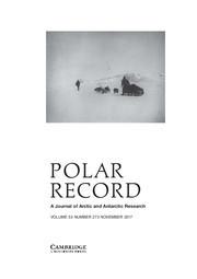 Polar Record Volume 53 - Issue 6 -