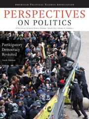 Perspectives on Politics Volume 10 - Issue 1 -