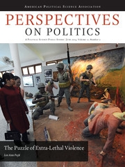Perspectives on Politics Volume 11 - Issue 2 -