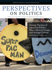 Perspectives on Politics Volume 12 - Issue 3 -