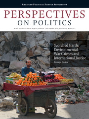 Perspectives on Politics Volume 12 - Issue 4 -