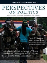 Perspectives on Politics Volume 13 - Issue 3 -
