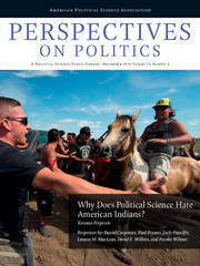 Perspectives on Politics Volume 14 - Issue 4 -