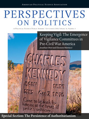 Perspectives on Politics Volume 16 - Issue 3 -