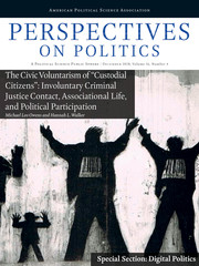 Perspectives on Politics Volume 16 - Issue 4 -