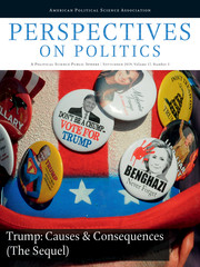 Perspectives on Politics Volume 17 - Issue 3 -